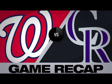 4/23/19: Robles, Corbin lift Nationals past Rockies