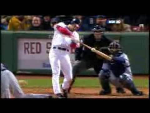 2008 Red Sox: J.D. Drew's RBI double increaseS the Red Sox lead vs Rays (5.3.08)