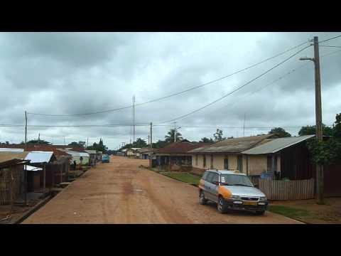 road to waterfall Wli Ghana.MOV