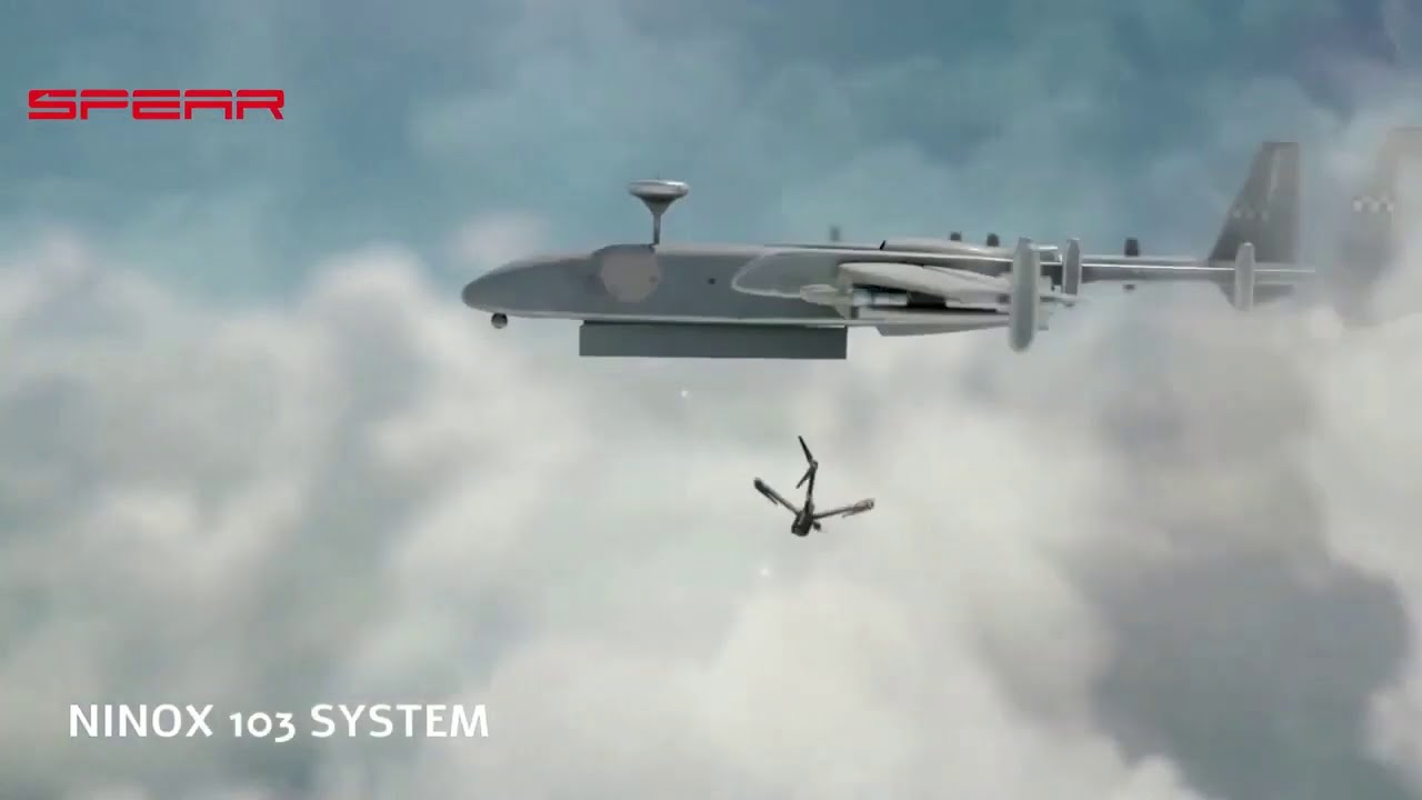 Israel New Military Capsule Drone Technology
