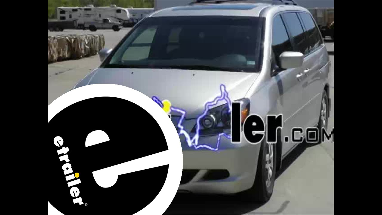 medium resolution of trailer wiring harness installation 2000 honda odyssey etrailer com