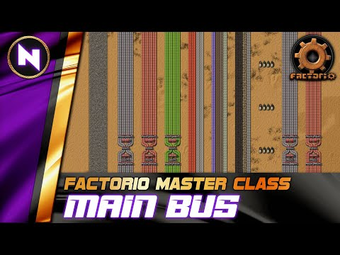 Order Your Base with the MAIN BUS - Factorio 0.18 Tutorial/Guide/How-to