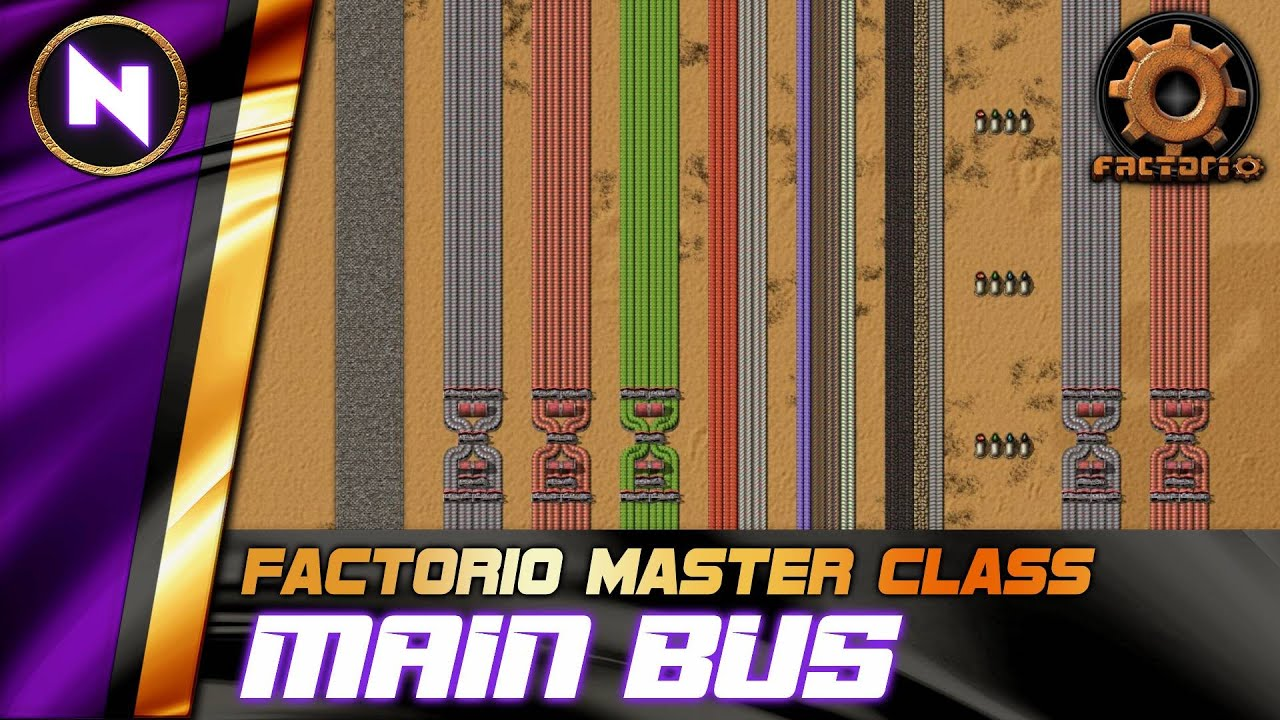 Download Order Your Base with the MAIN BUS - Factorio 0.18 Tutorial/Guide/How-to
