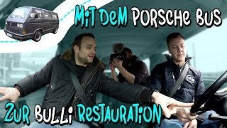 Im Porsche B32 zu VW Nutzfahrzeuge Oldtimer Hannover! Bulli Restauration Teil 3 | Philipp Kaess |