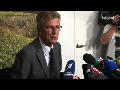 18 juli: persconferentie Malaysia Airlines vlucht MH17
