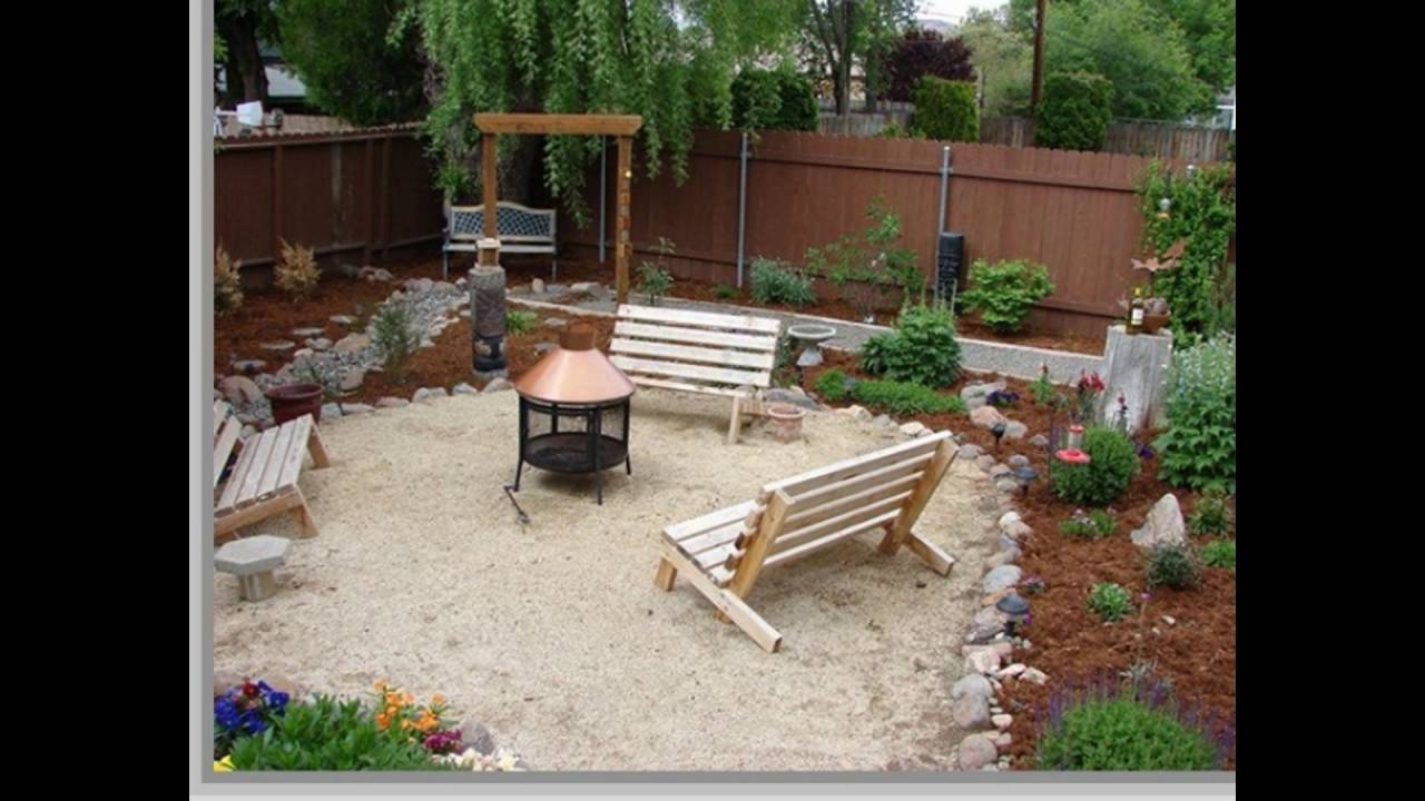 low budget yard and patio - YouTube on Backyard Patios On A Budget id=13093
