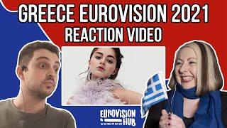 Greece   Eurovision 2021 Reaction   Stefania - Last Dance   Eurovision Hub