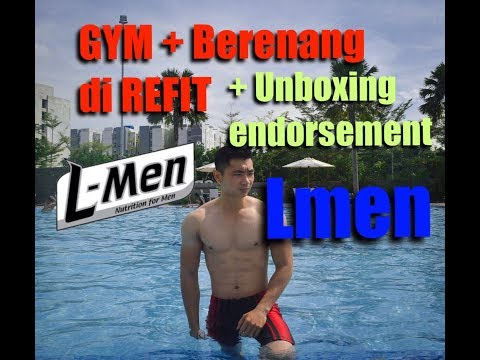 GYM di REFIT gratis sebulan + UNBOXING new product Lmen platinum ( endorsement)