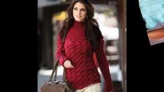 Шикарные вязаные  женские пуловеры, свитера и джемпера