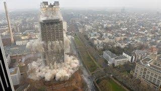 Sprengung AfE Turm