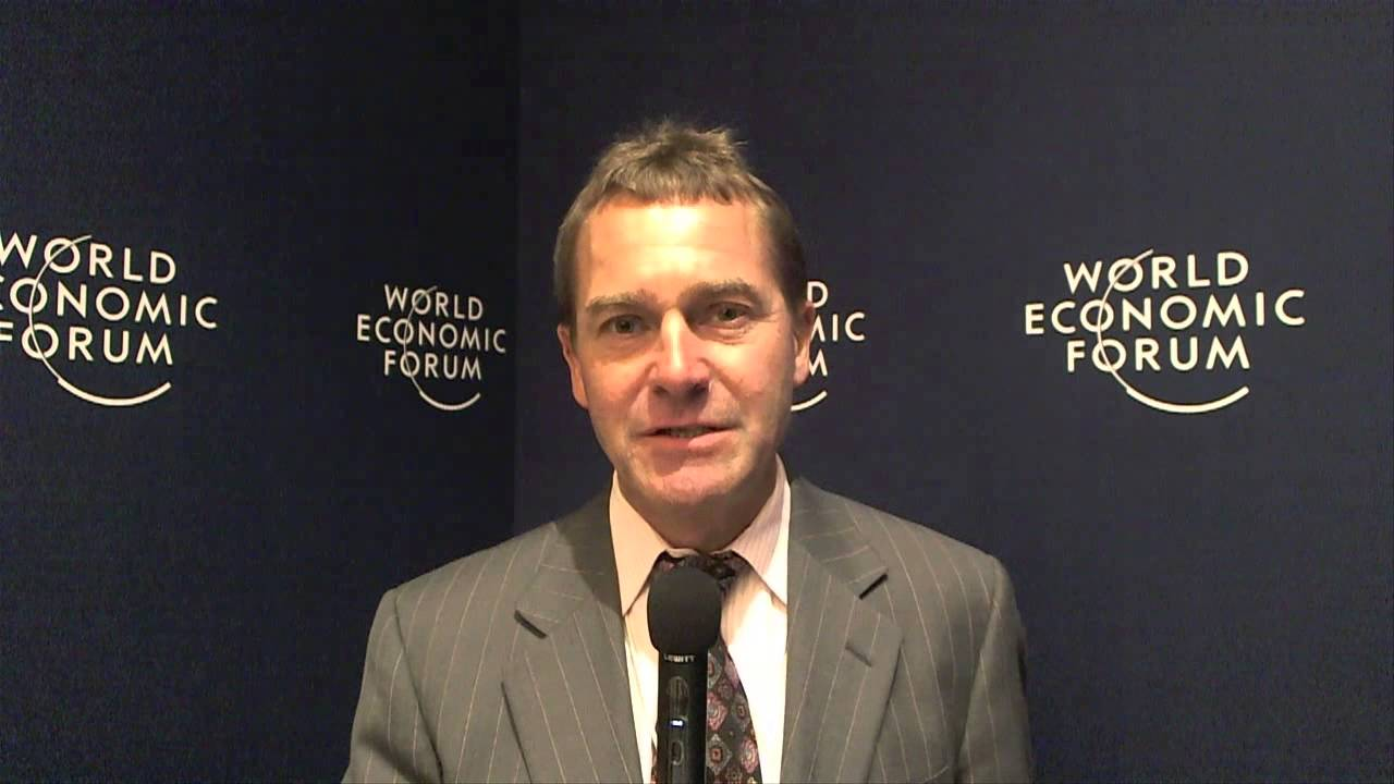 Gary Coleman - World Economic Forum on India 2012 social media corner