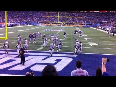 Aaron Hernandez Super Bowl TD