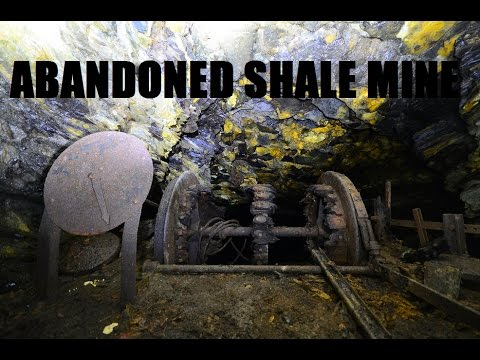 Abandoned Shale Mine - Flooded death trap! Urban Exploration Urbex