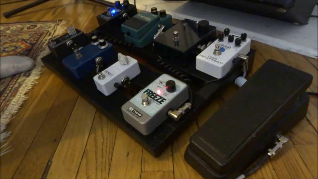 electro harmonix freeze pedal demo youtube. Black Bedroom Furniture Sets. Home Design Ideas