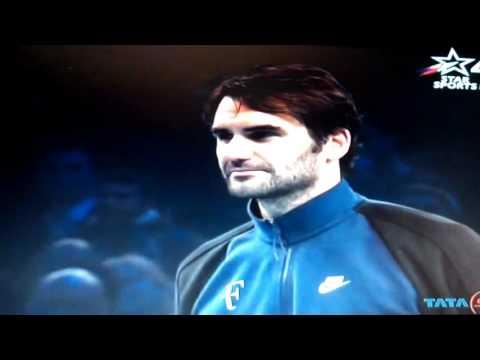 Djokovic ATP World Tour Finals trophy and Speech