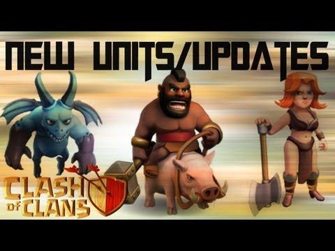 Clash Of Clans - New Dark Elixir Troops/Update!