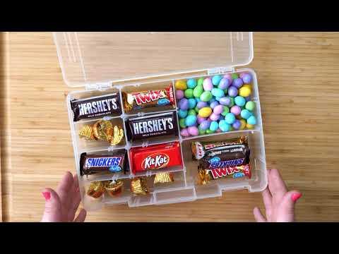 Moms Emergency Candy Stash Tackle Box Organizer