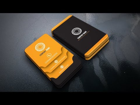 Illustrator Business Card Design -Tutorial