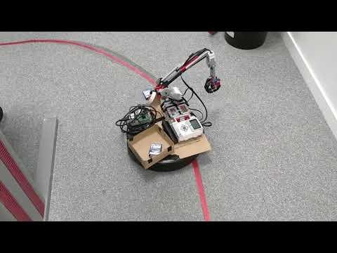 Robot suiveur et ramasseur