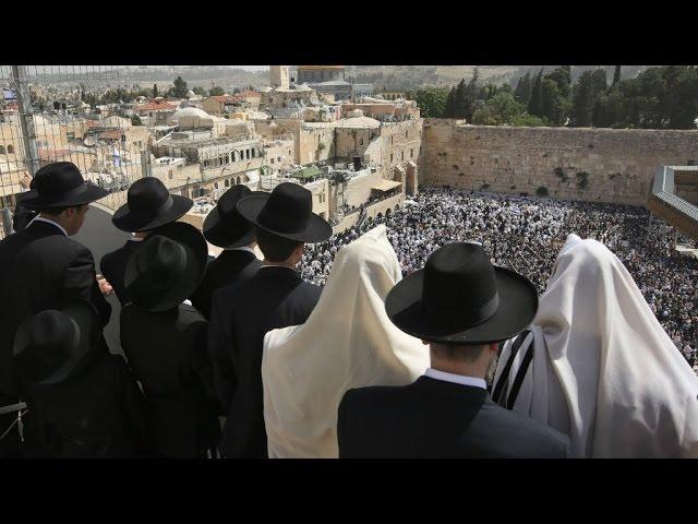 Israel: Liberals clash with ultra-Orthodox Jews over Jerusalem's Western Wall