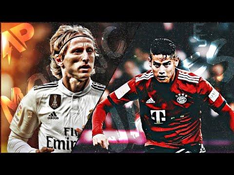 Luka modric vs James Rodriguez •dusk till down •4k• midfield battle▪ collabWith Futbol squad @ashpro