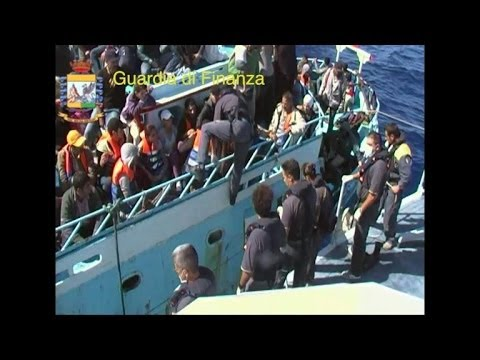 400 immigrants rescued in Strait of Sicily