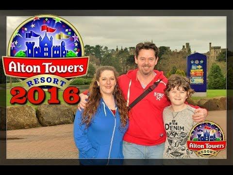 Alton Towers Resort 2016 - Vlog Part 1