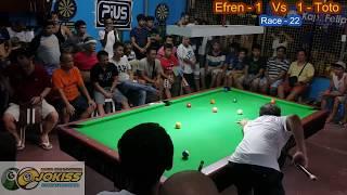 Efren Bata Reyes Vs Toto Aklan(1)