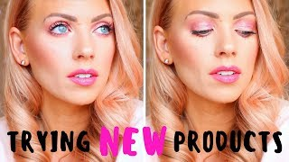 FULL FACE FIRST IMPRESSIONS | Trying New Makeup!