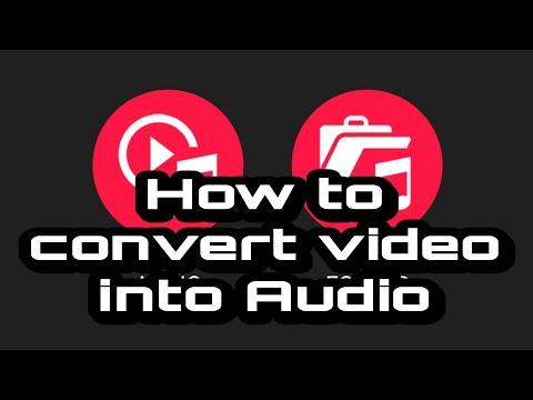How to Convert Video into Audio | Video To MP3 Converter || Qaisar Hami ||