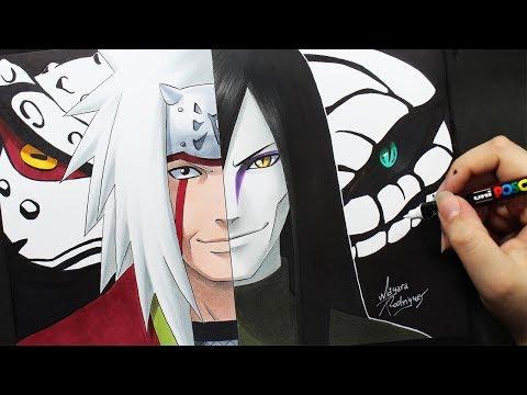 Speed Drawing - Jiraiya | Orochimaru [Naruto]