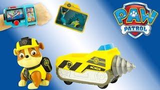 Pat Patrouille Mission Secrète Ruben Mini Foreuse Paw Patrol Mission Paw Jouet Toy Review Juguetes