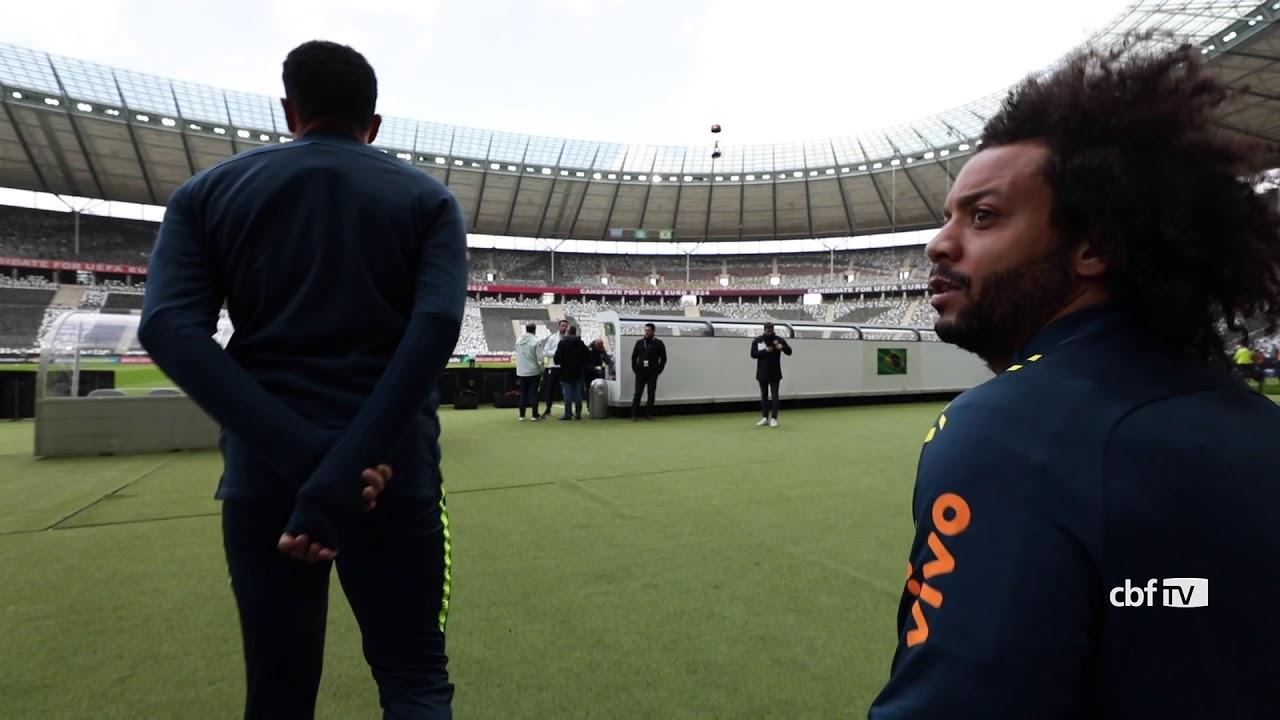 Seleção Brasileira pronta para pegar a Alemanha - YouTube 5eb1054aa5483