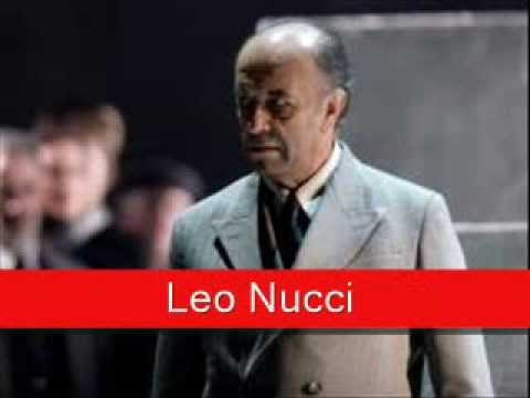 Leo Nucci: Puccini - Tosca, 'Tre Sbirri... Va Tosca'