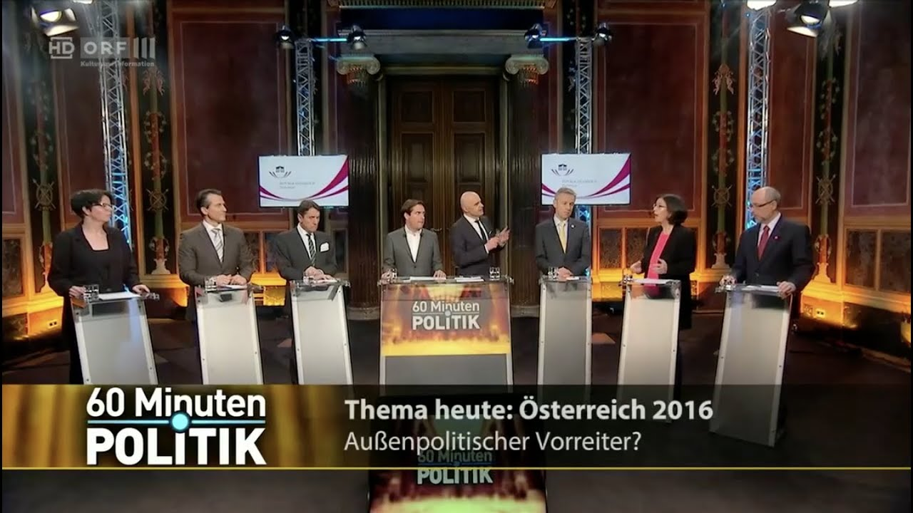 60 Minuten Politik Aussenpolitik 17 3 2016 Youtube