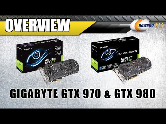 Gigabyte GeForce GTX 980 & 970 Overview - Newegg TV - YouTube
