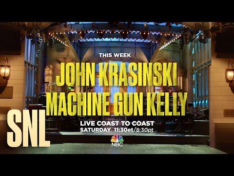 John Krasinski Is Hosting Saturday Night Live!
