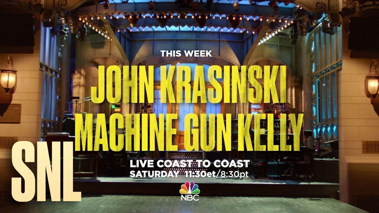 John Krasinski, 'The Office' has some advice for you before 'SNL'