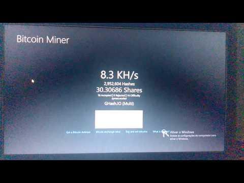Bitcoin miner ghash.io