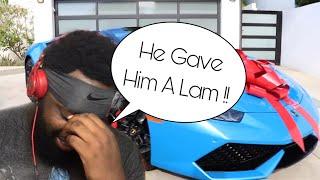 David Dobrik Surprising His Friend With A Lamborghini Reaction !!