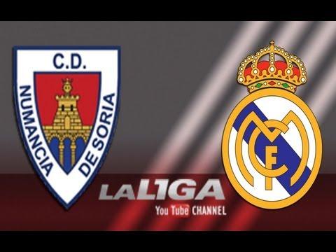 Gol de Fabinho (3-3) en el CD Numancia - Real Madrid Castilla - HD