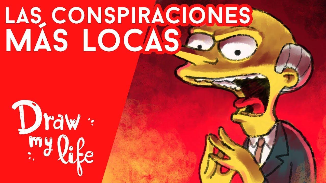 Las CONSPIRACIONES MÁS ABSURDAS - Draw My Life