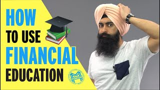 The 1 Thing You NEED To Understand About Financial Education