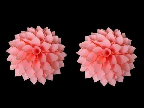 DIY Amazing Paper Flower | Paper Flower Craft Idea || SUNIL CREATION