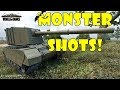 World of Tanks - Funny Moments   MONSTER SHOTS! #3 (Get derped!)