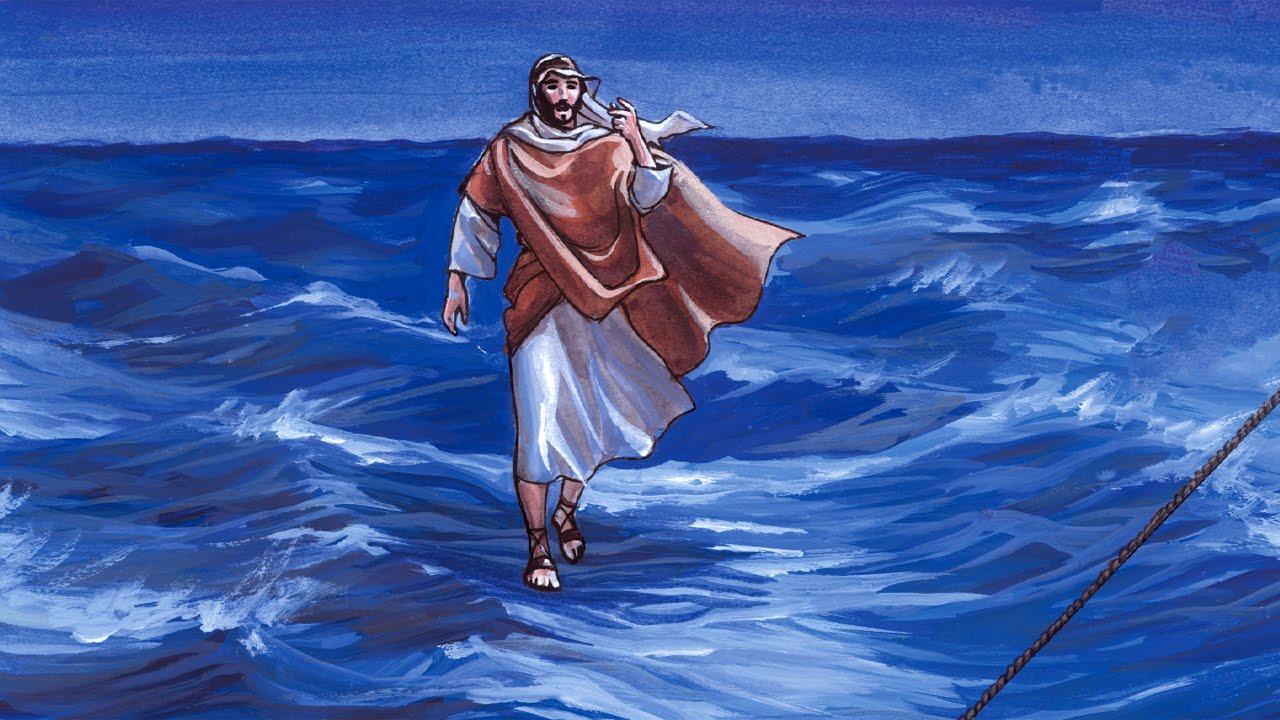 без хождение по воде иисусом картинки рассказать