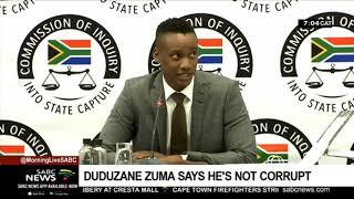 Duduzane Zuma says he's not corrupt