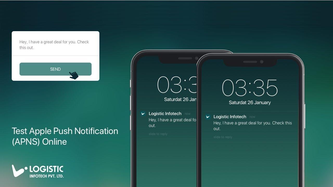 Test Apple Push Notification (APNS) Online