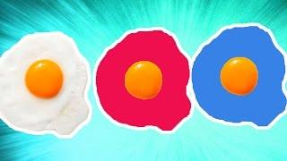 Sahanda Rengarenk Yumurta Yaptık