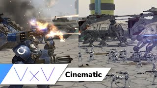 [Star Wars vs. Warhammer 40k] Christophsis: Armored Attack | Cinematic | Assault Squad 2